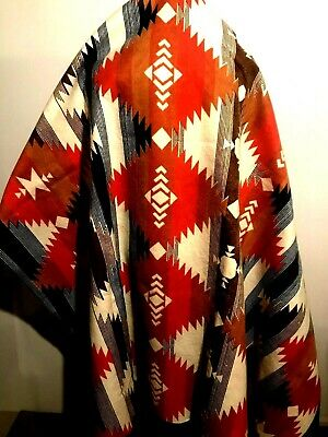 Blanket, Throw, Cover, Southwest, Aztec Style, Vintage...USA