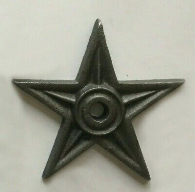 """24 Cast Iron Stars Washer Texas Lone Star Ranch 3 7//8/"""" Large Primitive Craft"""
