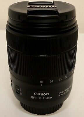 Canon EF-S 18-135mm f/3.5-5.6 IS NANO USM Standard Zoom Lens With Lens Hood