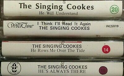 Pick 1 The Singing Cookes Old Time Christian Gospel Cassette Tape From This Lot