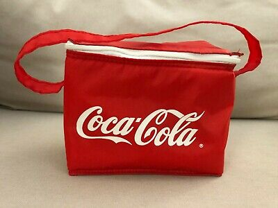 Coke Coca-Cola Insulated Soft Cooler Lunch Bag
