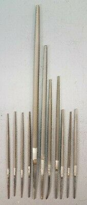 Round Metal Files New Old Stock Vintage Nicholson Johnson JK 4, 6, 8, 10 Inches