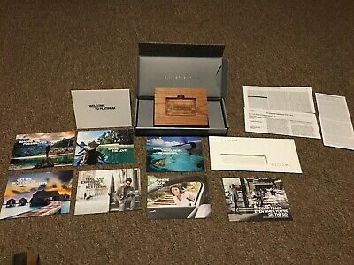 American Express Platinum Card Welcome Package