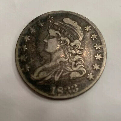 1833 Capped Bust Silver Half Dollar * United States Coin
