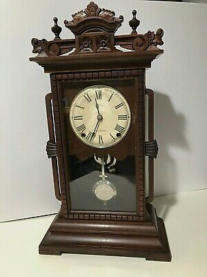Antique Seth Thomas 8 day Shelf Mantle Clock