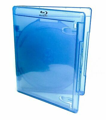 Blu-ray Triple (holds 3) Disc Replacement Case Standard 12mm NEW AcePlus