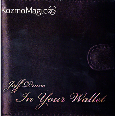 In Your Wallet - Jeff Prace & Kozmomagic - (Dvd & Gimmick) - New!