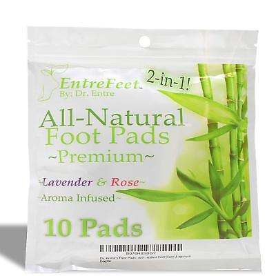 Dr Entres 2 in 1 Foot Pads Best for Pain Relief Deep Sleep Odor Eliminator
