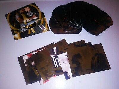 The X-Files Season NINE 9  Complete Insert Foil Chase Trading Card Set Lot