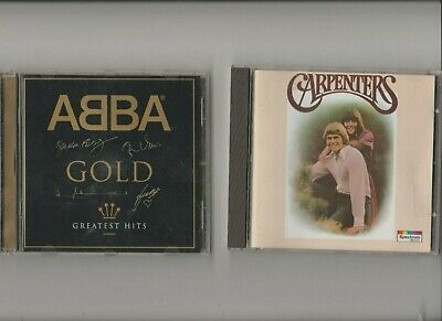 Abba Gold Greatest Hits + The Carpenters / TWO CD Albums