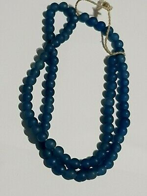 Superb Near East Bactria Blue Rare Stones Necklace  100 Bc