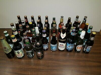 Beer Bottle Collection - Unopened Bottles 10-25 Years Old Worldwide  Lot3