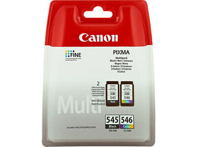Original PG545 CL546 Canon Tinte Drucker Patronen MG2550 MG2555 MG2950 MX495 Set