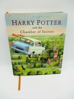 The Chamber Of Secrets Illustrated Hardback Edition Harry Potter Book good cond
