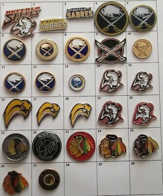 Different Teams : Buffalo Sabres Chicago Nhl Hockey Logo Pin Your Choice G870