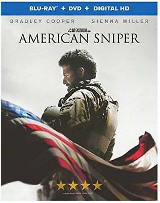 American Sniper (Blu-ray + DVD + Digital HD UltraViolet Combo Pack) - VERY GOOD