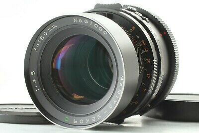 【Exc+++++】 Mamiya Sekor C 180mm f/4.5 MF Lens For RB67 Pro S SD From JAPAN #850