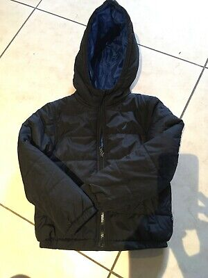 Nautica Black Boys Coat Jacket Age 4 Warm Padded Quilted