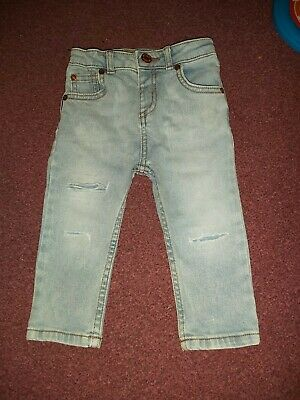 Boys River Island Skinny Jeans 12-18 Months