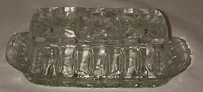 Anchor Hocking EAPC* EARLY AMERICAN PRESCUT *BUTTER DISH W/COVER #705