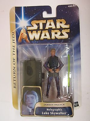 Star Wars Return of the Jedi '04 #11 Luke Skywalker HOLOGRAPHIC BRAND NEW ON CAR