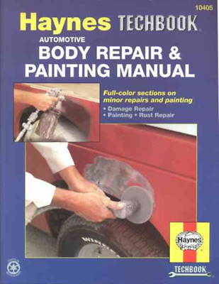 Auto Body Weld Metal Rust Repair Paint Haynes Manual Workshop Manual Service