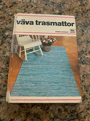 Swedish Weaving Loom HB Book VAVA TRASMATTOR Handwoven Rugs Astrid Johnson ICA