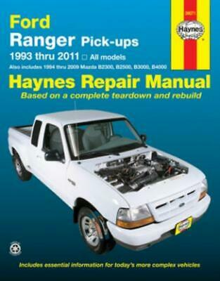 Haynes Workshop Manual Ford Ranger Mazda Pick-Ups 1993-2011 Service Repair