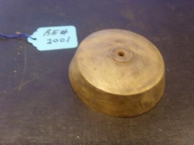 be#200 genuine old bracket clock bell  clock bell  77mm od