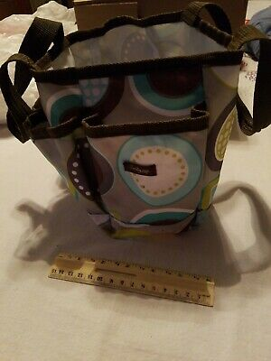 """Crafters 7"""" Thirty One Bag Used Great for scrap booking!"""