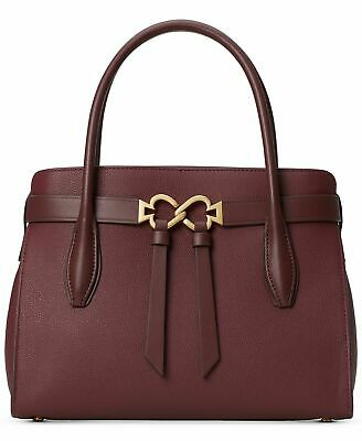 Kate Spade New York Toujours Large Leather Satchel Cherrywood