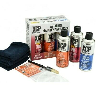 XCP Professional Motorcycle, Car, Maintenance Pack, Lube, Cleaner, Brush, Cloths