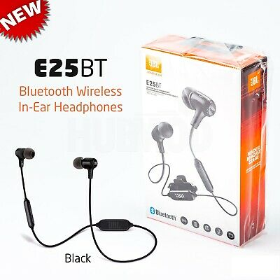 JBL E25BT Wireless In-Ear Bluetooth Headphones Black