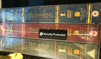 The Lord Of The Rings Trilogy DVD 12 Disc Box Set, Special Extended Edition