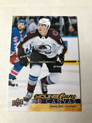 2017-18 UD Series 1 Hockey Canvas Young Guns Tyson Jost #C93