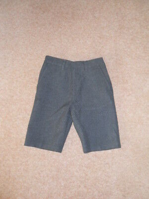 Boys Grey School Shorts from Marks and Spencer. Size 7-8 years