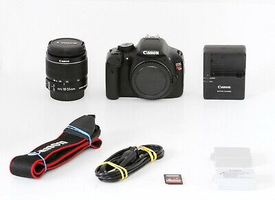Canon EOS Rebel T2i 18.0MP DSLR Camera, EF-S II 18-55mm f3.5-5.6 - Free Ship #1