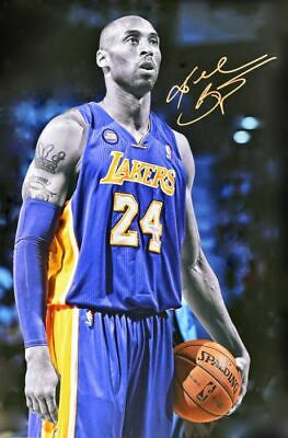 "LA Lakers - Kobe Bryant - NBA Poster 24"" X 36""- NEW"
