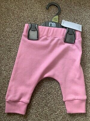 Mothercare Pink Leggings Joggers Baby Girl Up To 1 Month