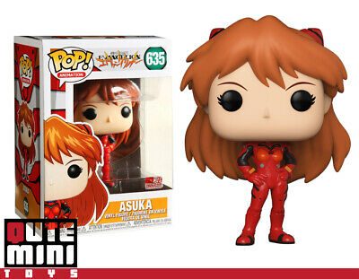 Funko Pop Japan Animation Eva Evangelion Asuka Langly #635 45120 Vinyl Figure