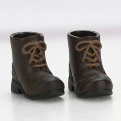 """Short Boots for Movable figure element body Doll 11cm /""""Brown/"""" Obitsu JAPAN"""