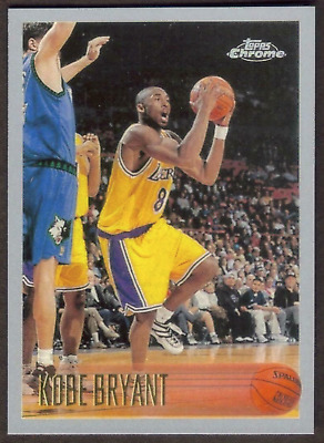 KOBE BRYANT Rookie RP #138 Lakers RC '96 Chrome Free Shipping