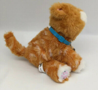Little Live Pets Orange Tabby Cat Interactive Battery Operated 2016