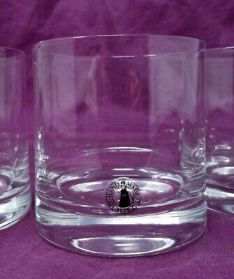 Mouth Hand Blown Clear Glass Low Ball Rocks Bar Glasses Set of 4 Bravo IKEA