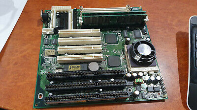 A-Trend ATC-5030 Socket 7 motherboard - USB PCI ISA 72pin 168pin RAM - working