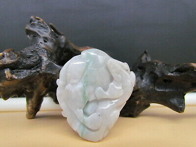 AAAAA Chinese Hand-carved aristocratic wearing Jadeite jade pendant Beast