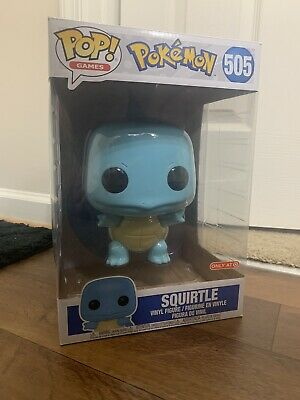 Pokemon Funko Pop! 10 Inch Squirtle 505 Target Exclusive