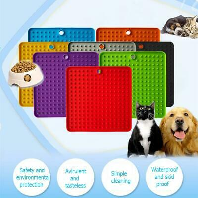 Silicone Pet Slow Feeder Dog Lick Pad Pet Bathing Grooming Toy Licking Mat