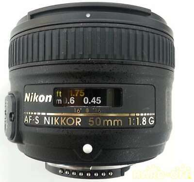 Nikon Lenses Af-S Nikkor 50Mm F 1.8G Wide-Angle Single Focus Lens
