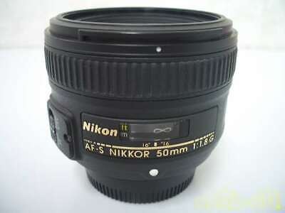 Nikon Wide Angle Single Focus Lens For 2557004 Af-S Nikkor 50Mm 1.8G Wide-Angle